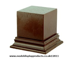 40mm x 40m Square Top Display Plinth