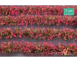 Magenta Flower Field Strips