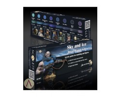 Scale 75 Sky & Ice Blue Paint Set