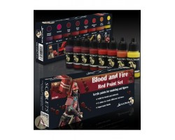 Scale 75 Blood and Fire Red Paint Set