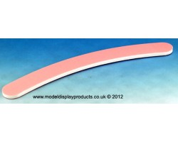 Pink Curved Sanding Stick