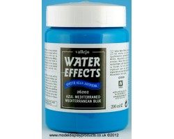 Vallejo Water Effects Mediterranean Blue